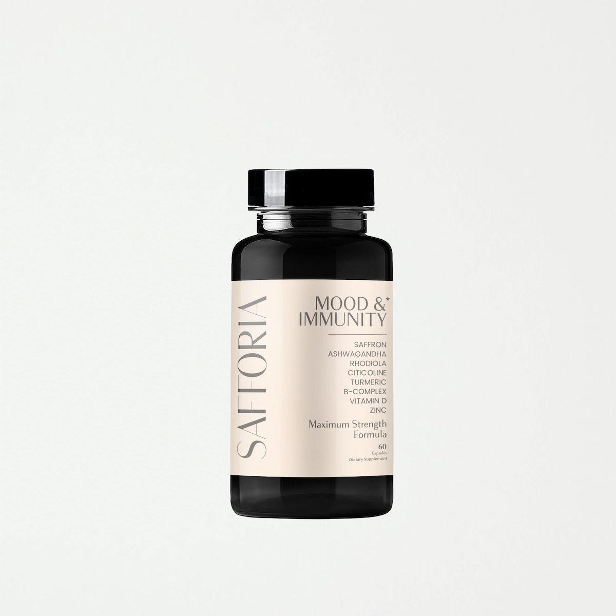 Safforia Mood & Immunity Supplement: image 1