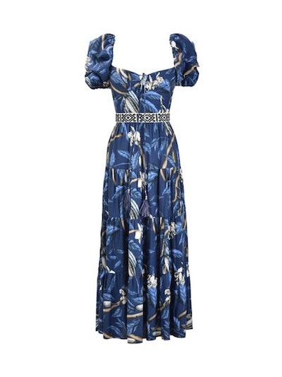 Botanical Heritage Puff Sleeve Dress
