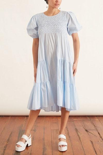 Vallarta Dress in Light Blue