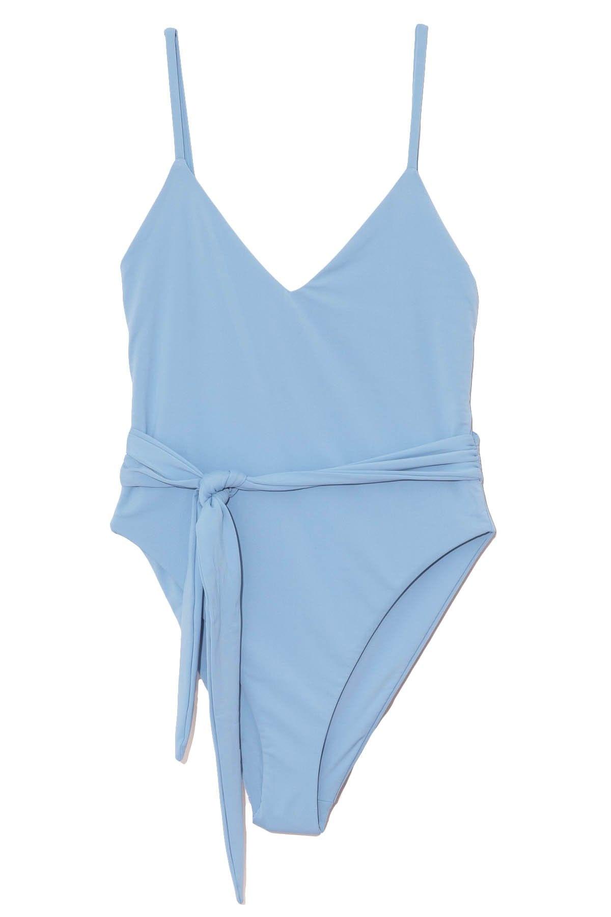 Gamela Swimsuit in Blue: image 1