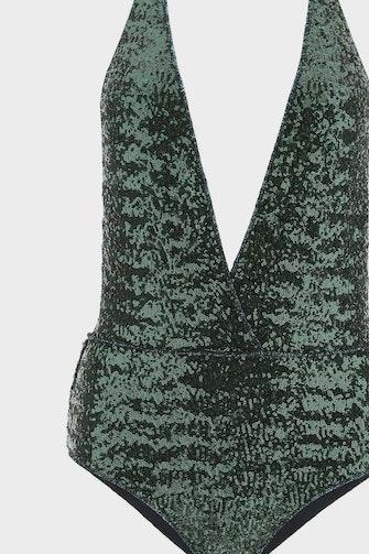 Oséree Mid-sequin One-piece Swimsuit: image 1