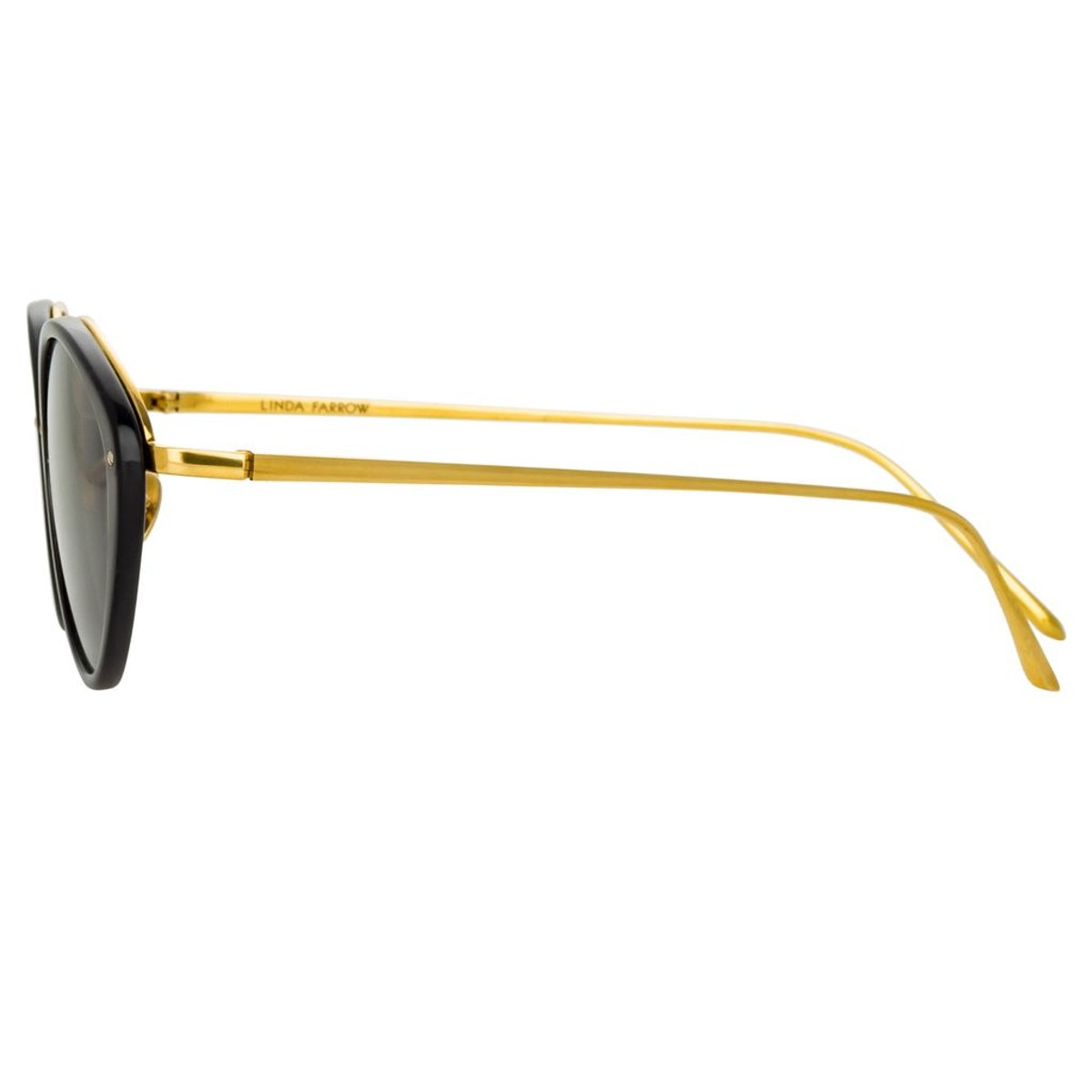 Lucy Cat Eye Sunglasses in Black: image 1