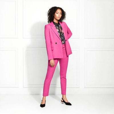 Benji Twill Suiting Cropped Trousers: image 1