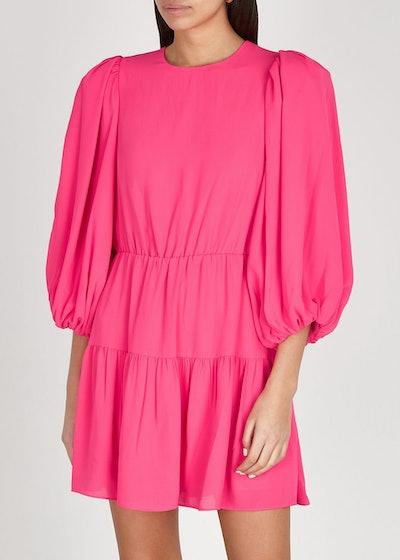 Shayla hot pink mini dress