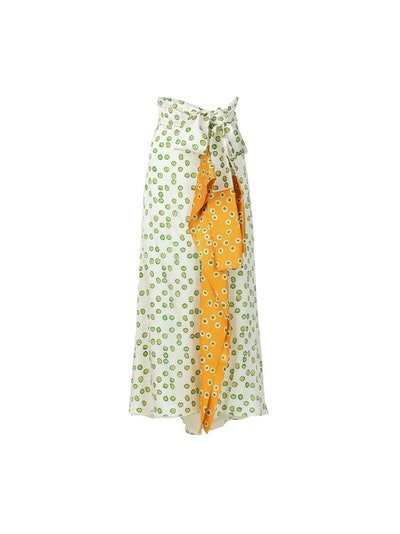 Sanluri Midi Wrap Skirt
