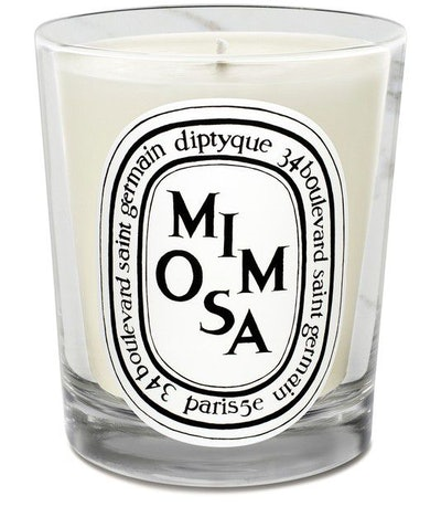 Mimosa scented candle 190 g: image 1
