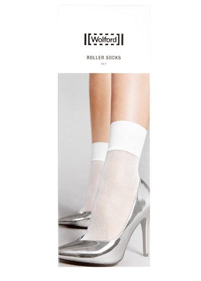 Roller honey fishnet socks: image 1