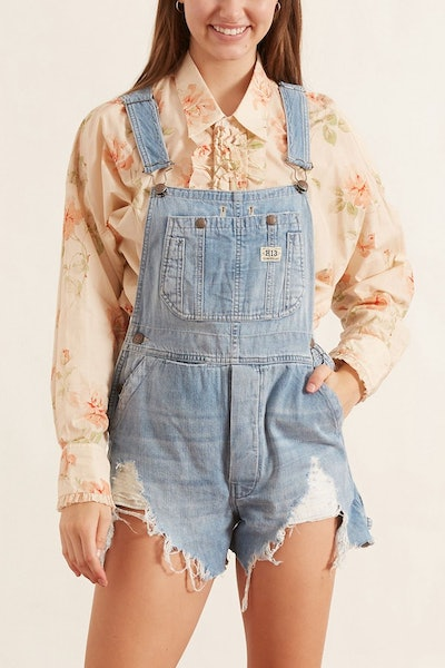 Overall Short in Elton Blue: image 1