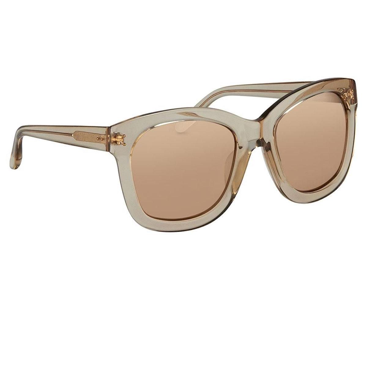 Linda Farrow 513 C4 Oversized Sunglasses: image 1
