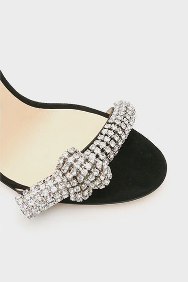 Jimmy Choo Thyra Crystal Sandals: image 1