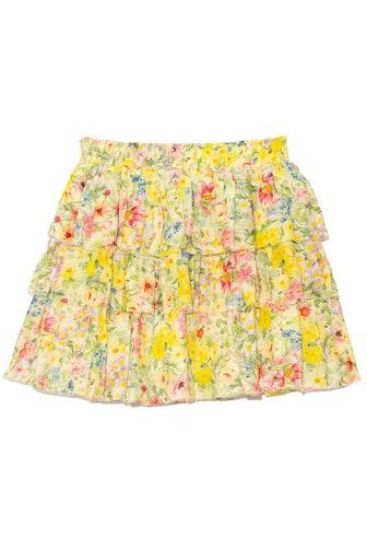 Brynlee Skirt in Rainbow Skies: image 1