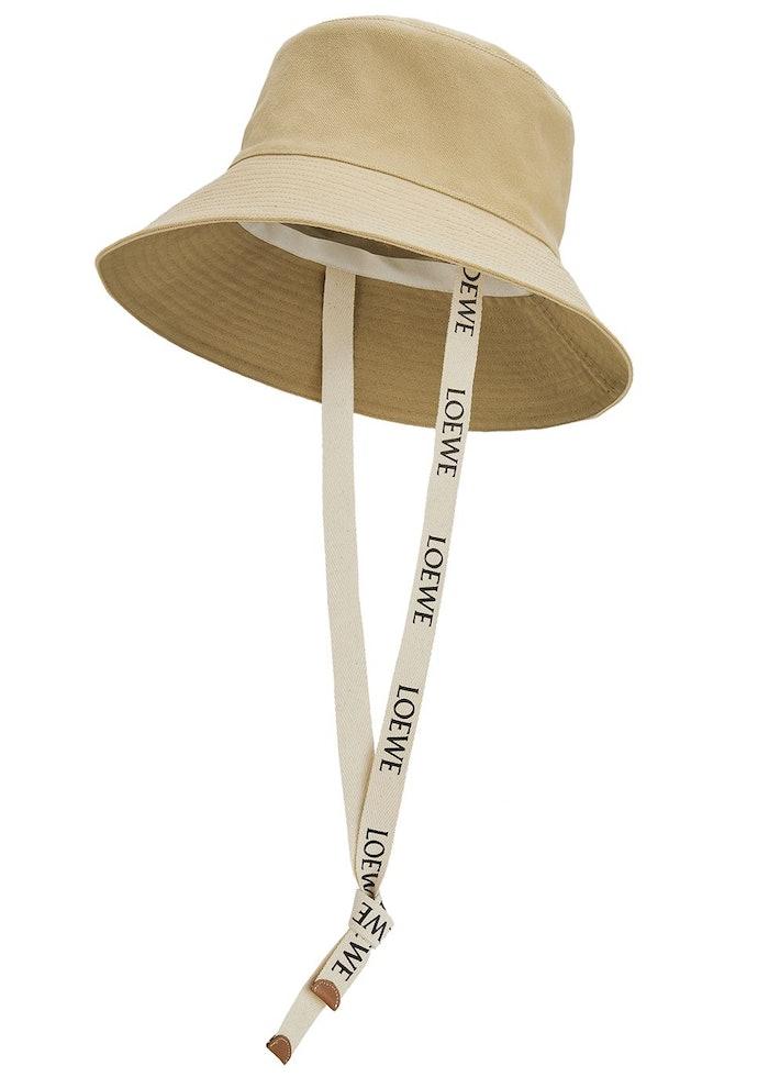 X Paula's Ibiza sand canvas bucket hat: image 1