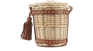 Basket Mini Bucket Bag: image 1