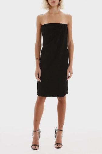 Max Mara Strapless Mini Dress: image 1