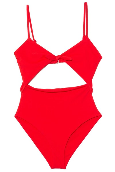 Kia Swimsuit in Red: image 1