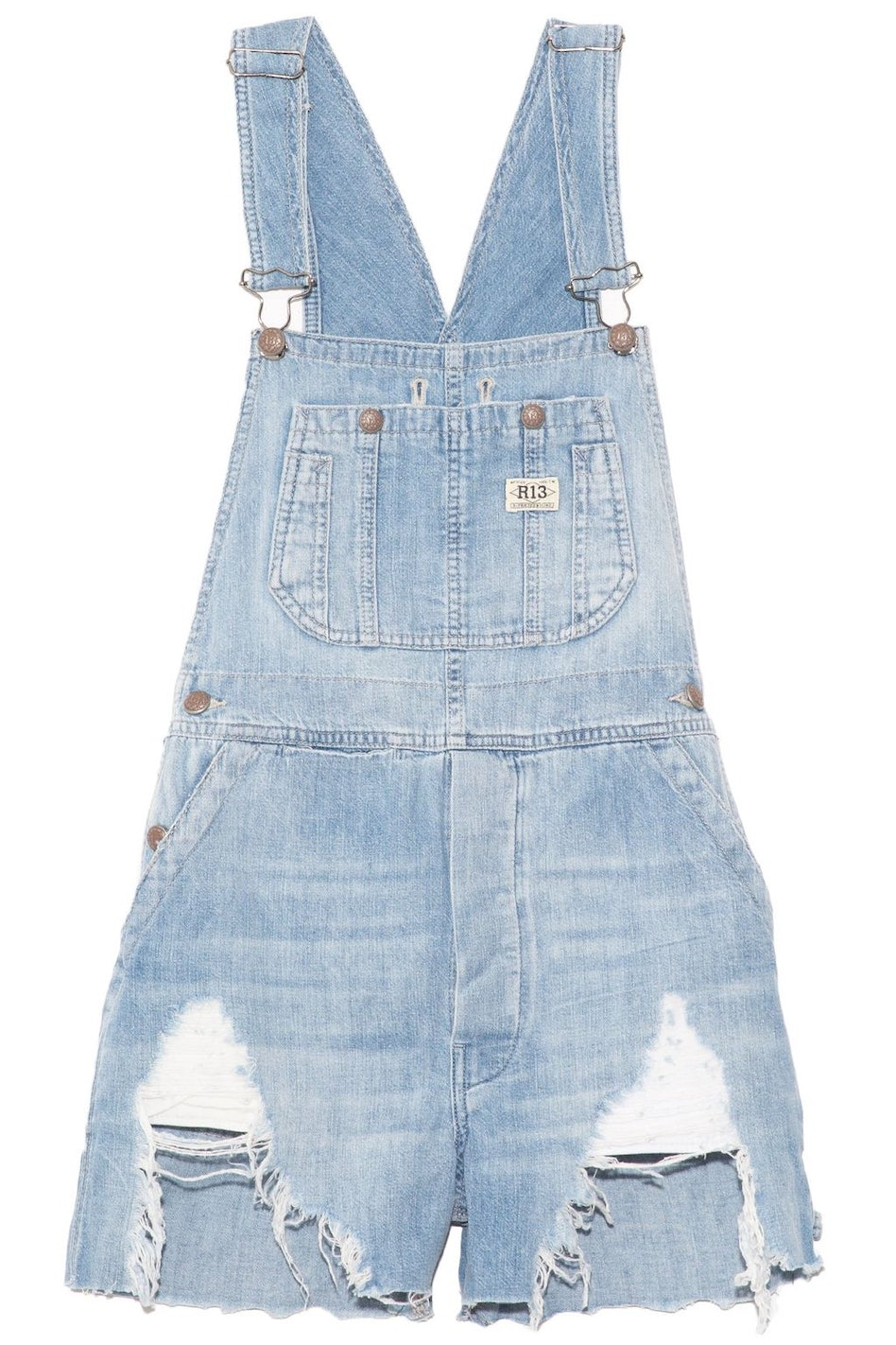 Overall Short in Elton Blue: additional image
