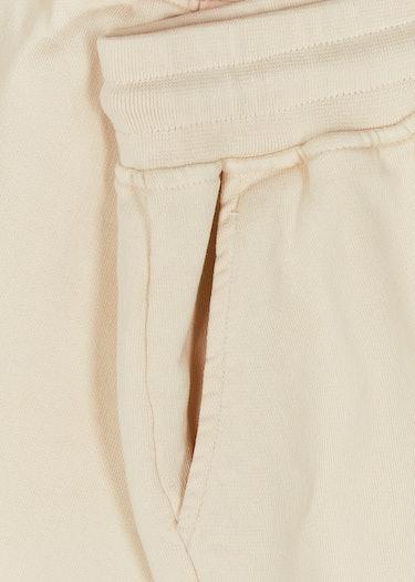 Ivory cotton shorts: additional image