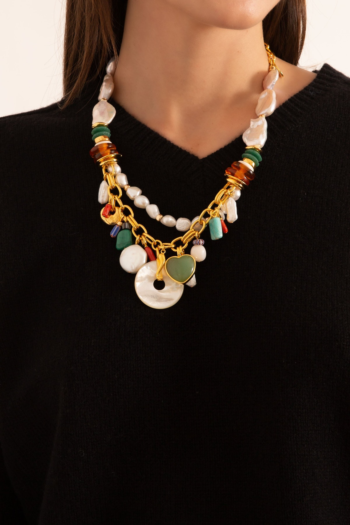 Vista Necklace in Multi: additional image