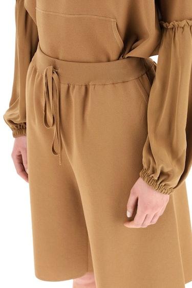 Max Mara Viscose Knit Shorts: additional image