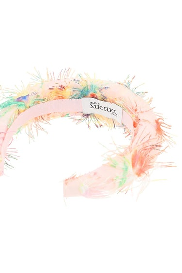 Maison Michel Miwa 3d Headband With Flowers: additional image