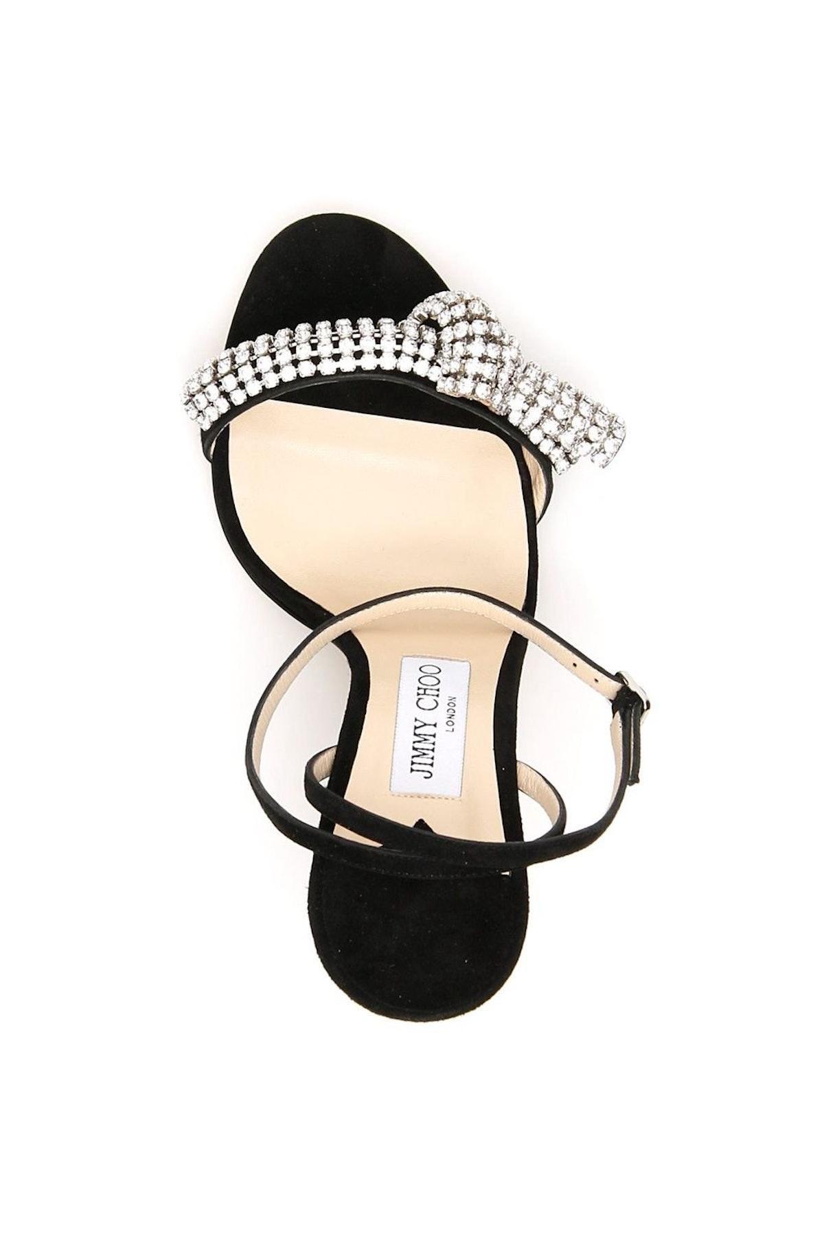 Jimmy Choo Thyra Crystal Sandals: additional image