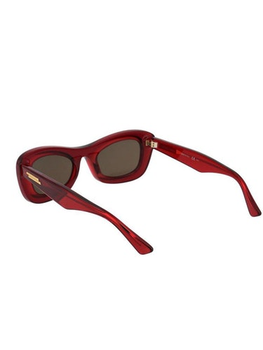 Thick Acetate Clear Sunglasses: additional image