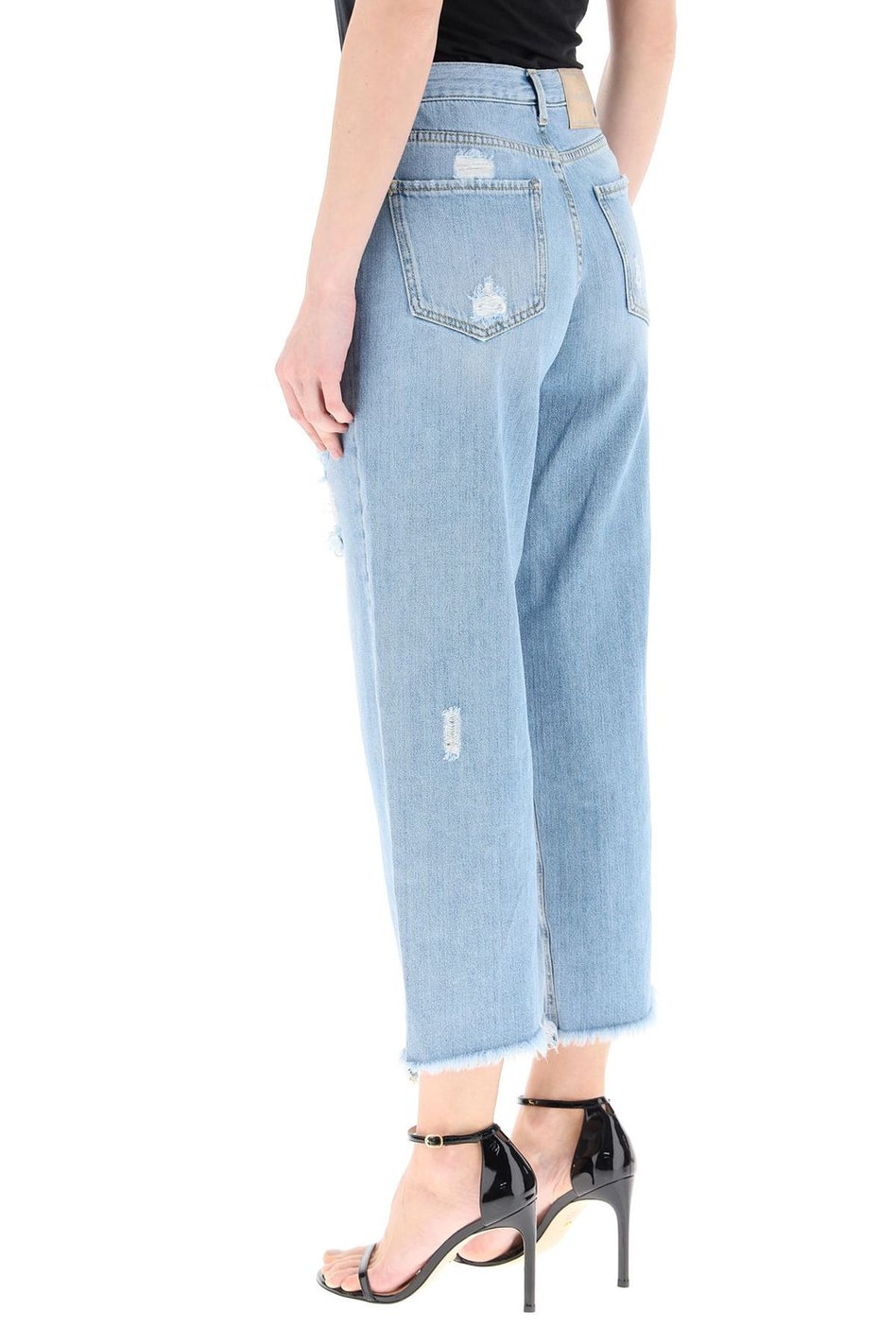 Pinko Maddie Mom-fit Jeans With Crystals: additional image