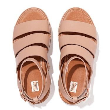 ELOISE - Espadrille Leather Wedge Sandals: additional image