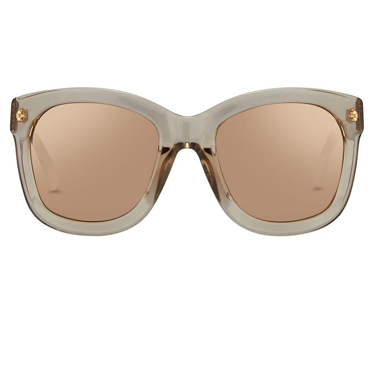 Linda Farrow 513 C4 Oversized Sunglasses: additional image