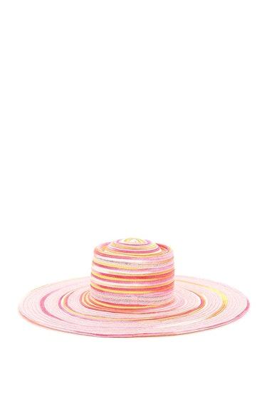 Maison Michel Kat Tie-dye Woven Hat: additional image