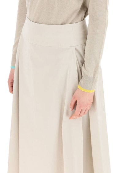 's Max Mara Cotton Midi Skirt: additional image