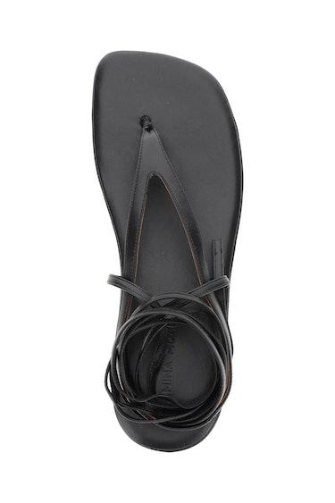 Amina Muaddi Flatform Sandal Jamie: additional image