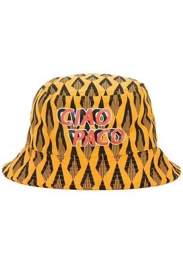 Ciao Paco printed cotton bucket hat: image 1