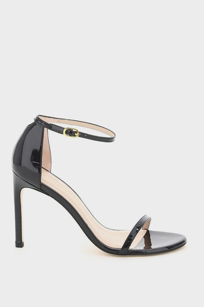 Stuart Weitzman Nudistsong Patent Leather Sandals: image 1