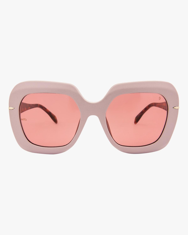 Mare Pink Oversized Sunglasses: image 1