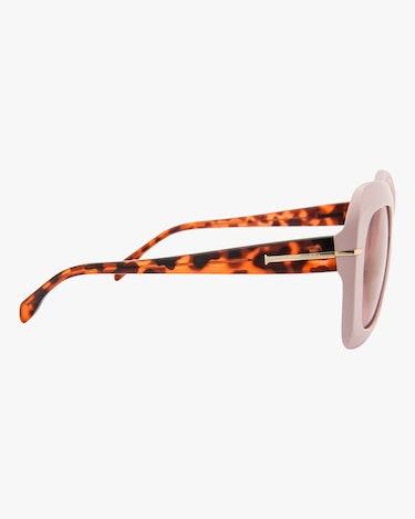 Mare Pink Oversized Sunglasses: additional image