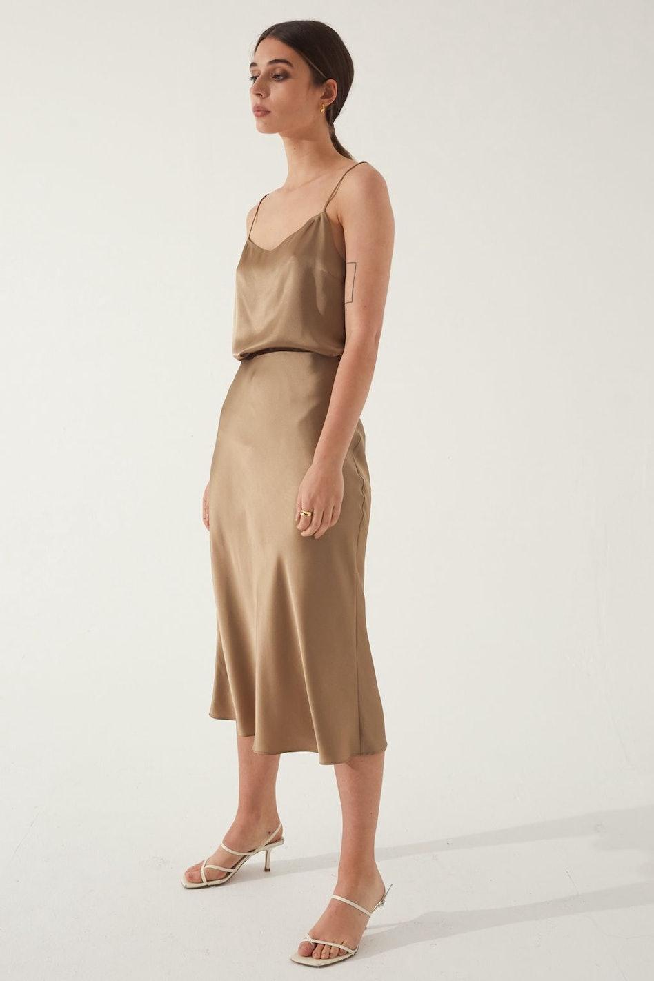 Slip Silk Skirt: additional image