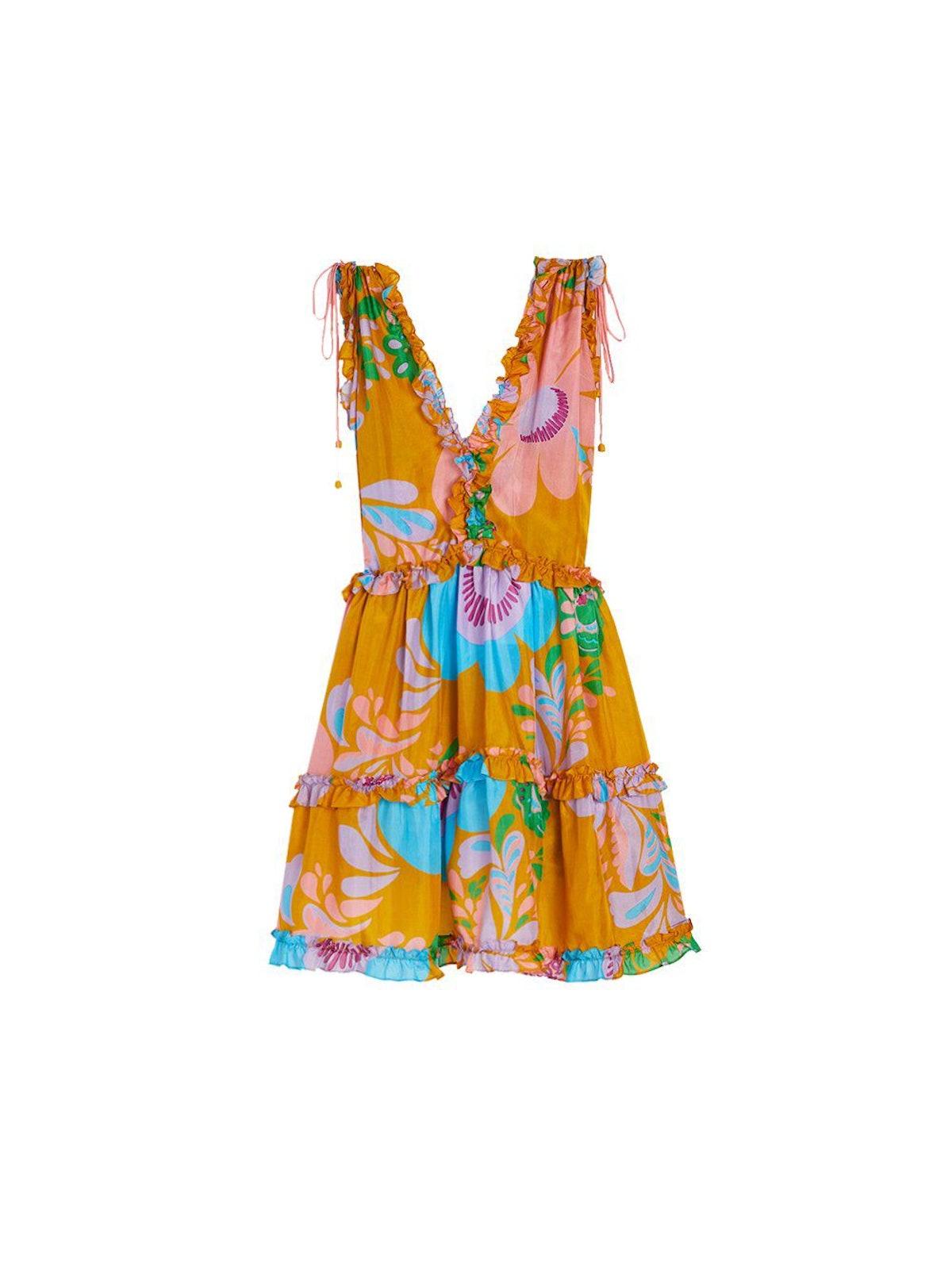 Teddy Floral Mini Dress: image 1