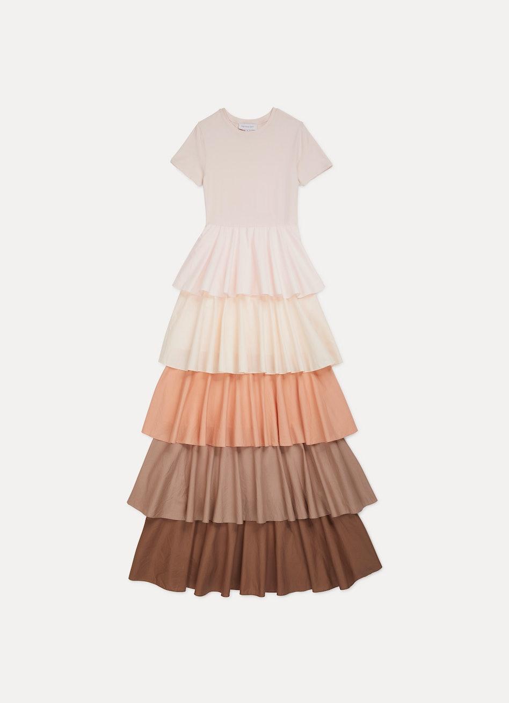 Alexandra Tiered Ruffle Dress: additional image