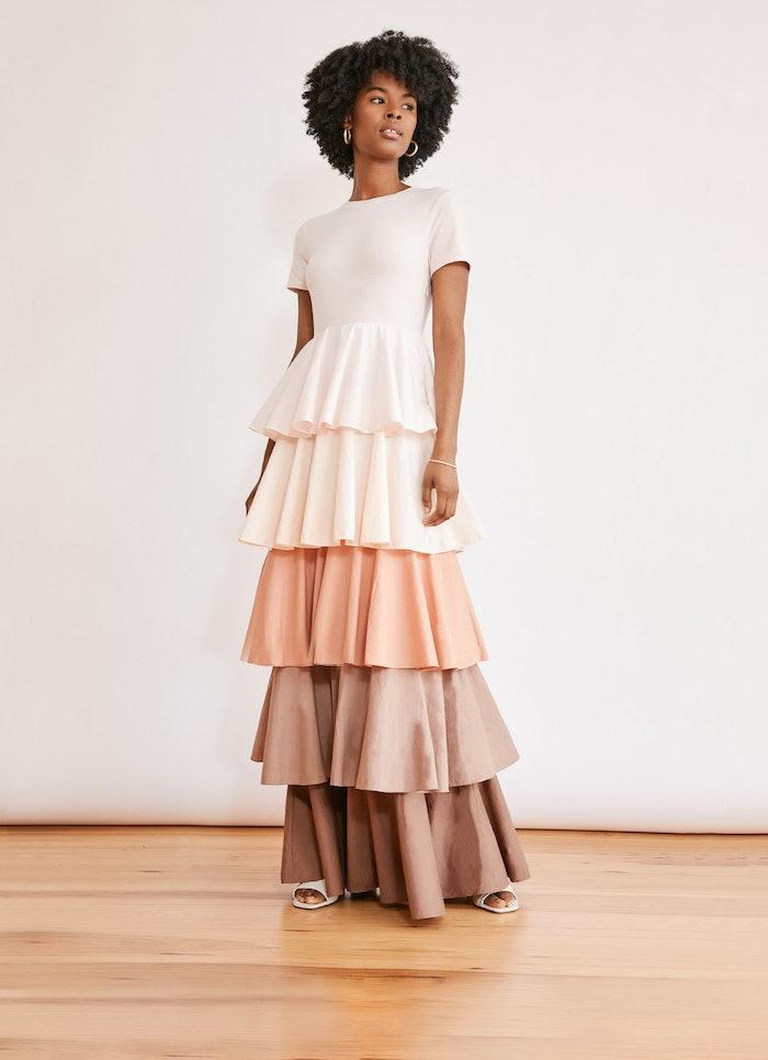 Alexandra Tiered Ruffle Dress: image 1