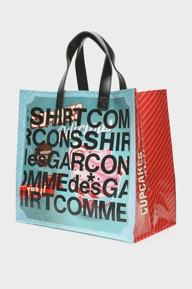 Comme Des Garcons Shirt Pop Logo Shopping Bag: image 1