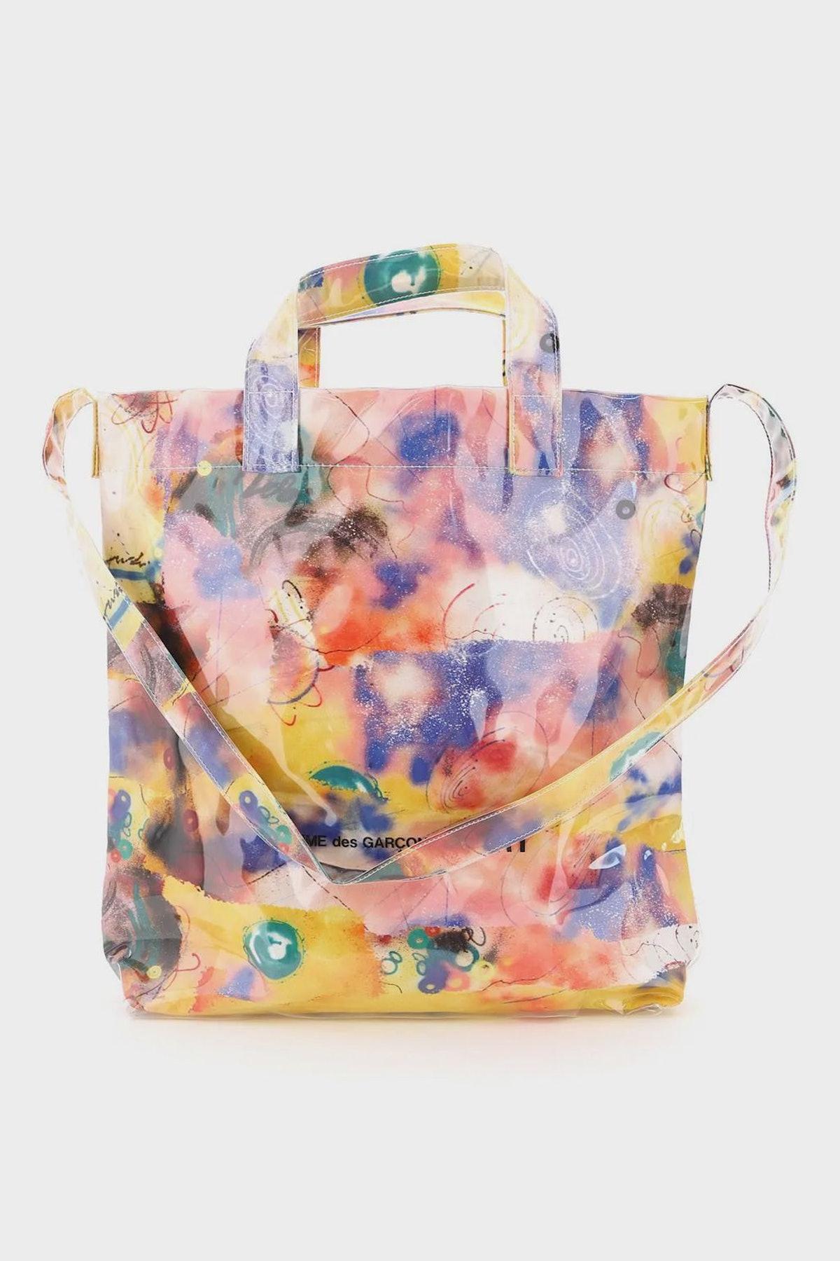 Comme Des Garcons Shirt Tote Bag Futura Print: image 1