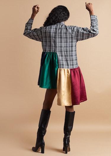 Rainbow Shirt Dress: additional image