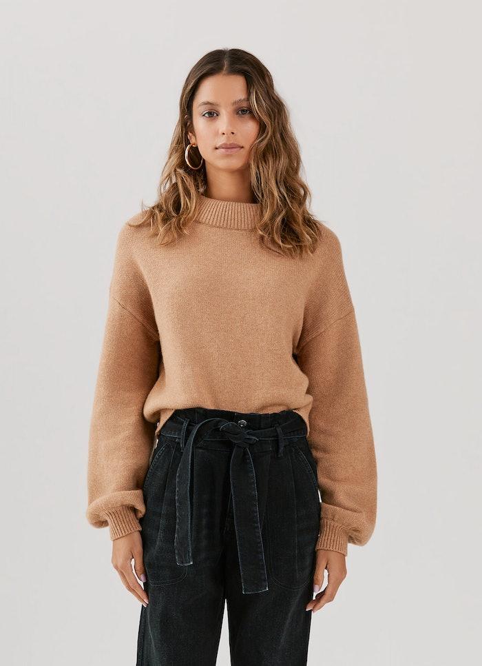 Miranda Coil Neck Sweater: image 1