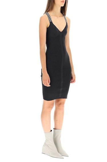 Off-white Bold Knit Dress: additional image