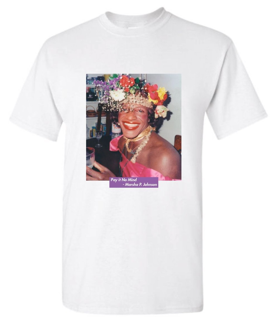 """""""Pay It No Mind"""" Tribute Tee: image 1"""