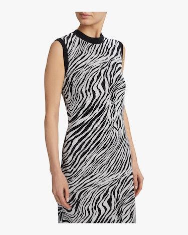 Zebra Tube Dress: additional image