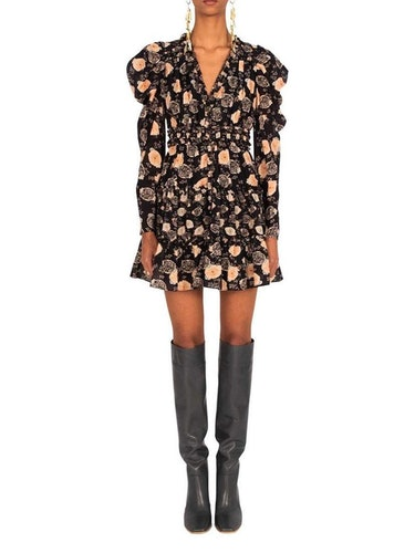 Winsor Floral Mini Dress: image 1