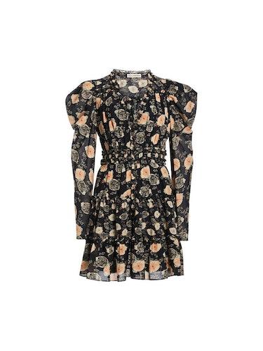 Winsor Floral Mini Dress: additional image