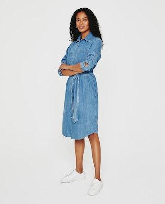 Millie Shirt Dress: image 1